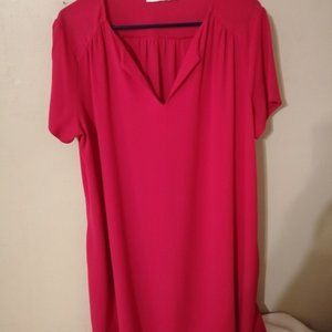 Lush hot pink dress size xl